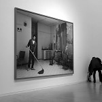 Jeff Wall 6: man with a broom.