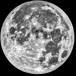 Face visible de la Lune. רגע לפני ההסמקה