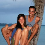 Andaman- happy couple.